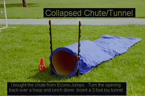 Collapsed Chute