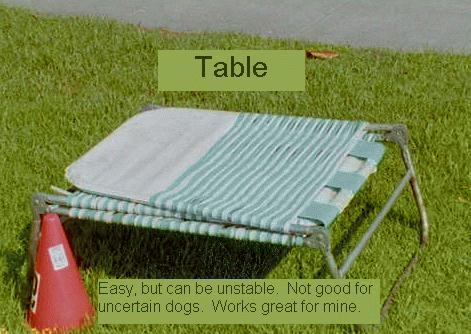 JFF Agility Table