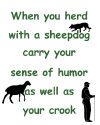 DogPlay's Carry Your Crook Herding design